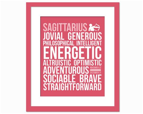 sagittarius personality character traits subway by