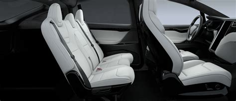 Tesla Model X Seating Tesla Updates Model X 5 Seater With Fold Flat Second Row