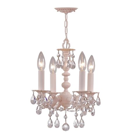 Children Chandelier Crystorama Lighting 5514 4 Light Flea Market Mini Chandelier Ceiling Light Atg Stores