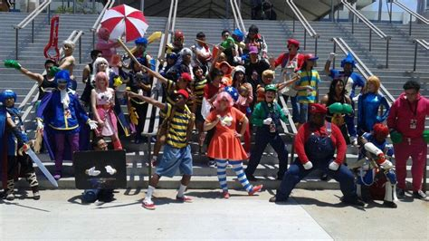 Anime Expo Cosplay Gatherings 2017 Anime Expo 2017 Super Smash Bros Cosplay Gathering