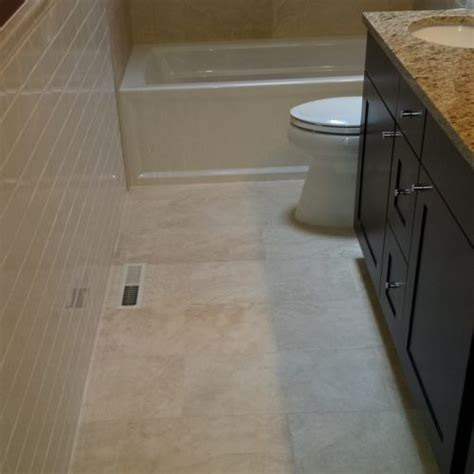 bathroom floor tile layout   easy steps diytileguy