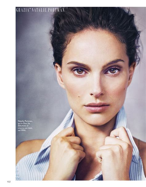 Natalie Portman April Issue Of Magazine by Natalie Portman Grazia Magazine Italia March 2015 Issue