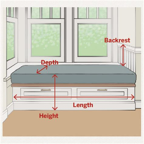 built in bench height window seat dimensions all about window seats this old