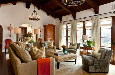 santa barbara home decor montecito andalusian mediterranean family room santa