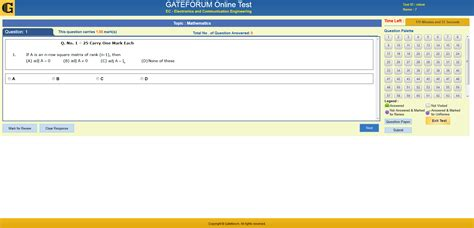 test on line test series gateforum