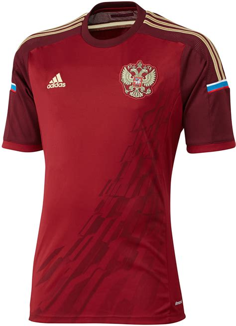 russian home russia 2014 world cup kits released footy headlines
