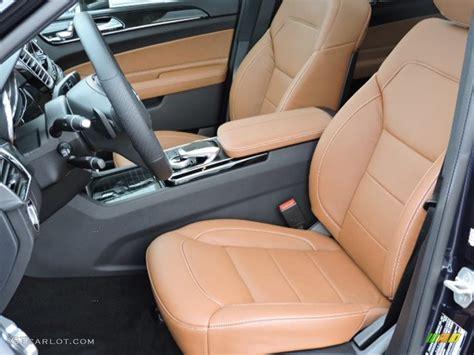 brown leather seats mercedes saddle brown black interior 2016 mercedes gle 350