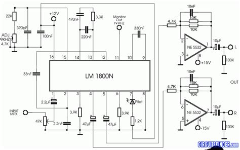 Power Lifier Kicx 3600 Watt headphone mixer circuit schematic headphone lifier