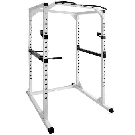 hardcastle hd olympic power cage squat rack home pull up