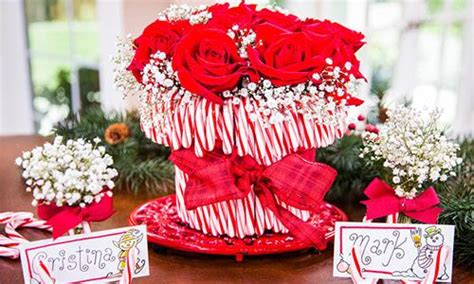 how to do a christmas candy sunday centerpiece home family tips products cristina crafts vase hallmark channel