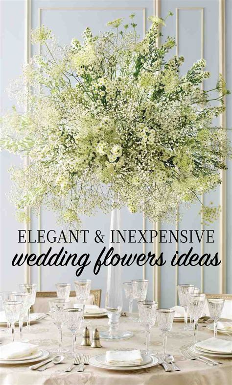 Inexpensive Wedding Flowers by And Inexpensive Wedding Flower Ideas Martha