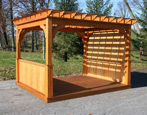 pergola with privacy pergola with privacy wall build your own pergola images