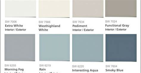 sherwin williams pottery barn colors favorite pottery barn paint colors from sherwin williams