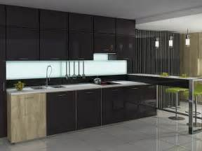 Modern Glass Kitchen Cabinets by Glass Kitchen Cabinet Doors