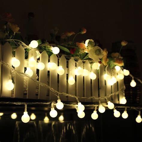 aliexpress com buy 10m 100 led globe string lights warm
