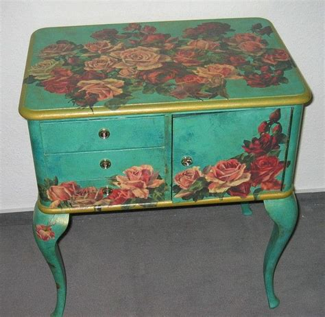 How To Decoupage On Furniture - best 25 decoupage table ideas on decoupage