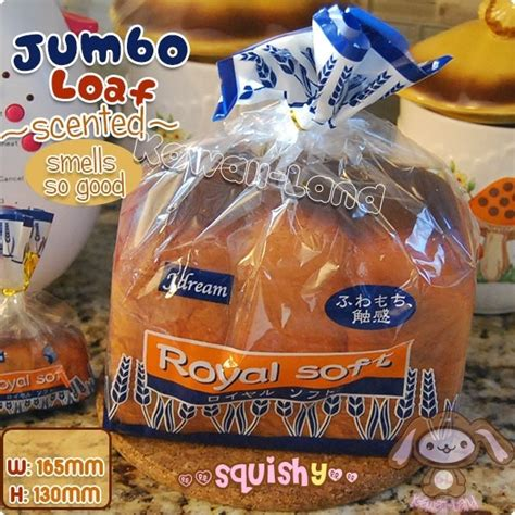 Soft And Slowrise Squishy Jumbo Ibloom Royal Soft 1 royal soft jumbo loaf of bread squishy scented
