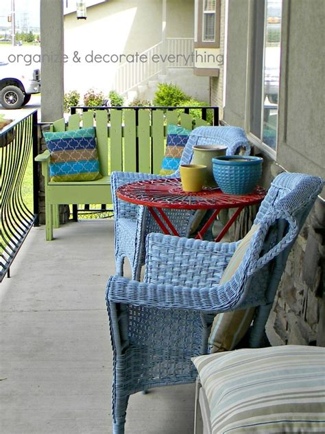 spray painting wicker chairs transform wicker chairs with spray paint organize and