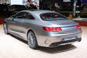 2015 Mercedes S Class Sedan 2015 Mercedes S Class Coupe Rear Three Quarters Photo 3
