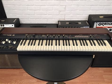 Keyboard Organ Roland roland vk8 b3 organ keyboard w drawbars near mint reverb