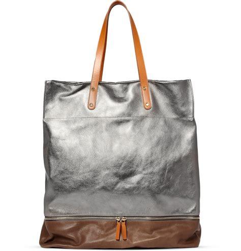 Tote Bags paul smith metallic leather tote bag s bags