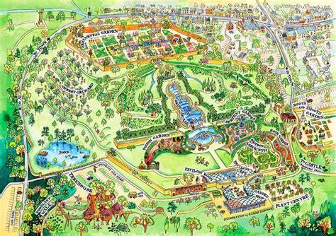 Garden Of Map Alnwick Garden Map Seaton Delaval