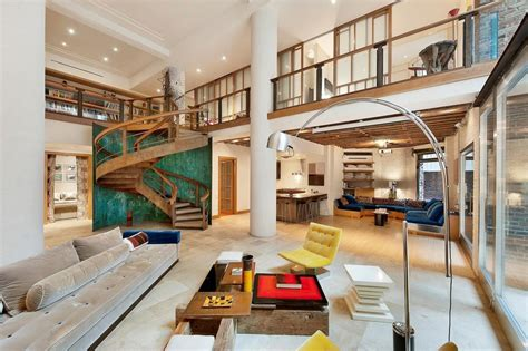 home design nyc luxurious duplex condo in the heart of tribeca for sale