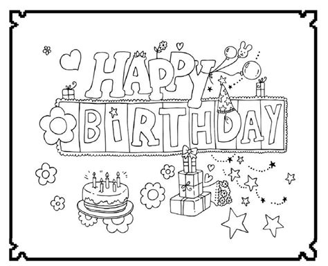 happy birthday emily coloring pages happy birthday happy and birthdays on pinterest