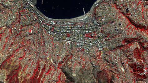 imagenes satelitales infrarrojas fotos satelitales muestran el antes y despu 233 s del incendio
