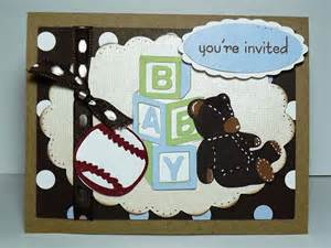 busy with the cricky baby boy shower invitation for