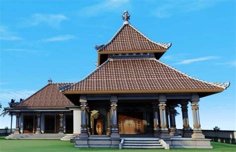 gambar konsep rumah adat bali balinese architecture culture pin