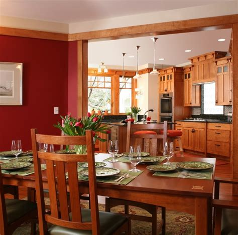 craftsman dining room 5126 fairglen