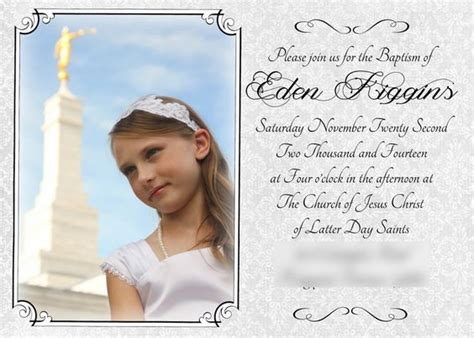 baptism program template lds baptism program free printables and on