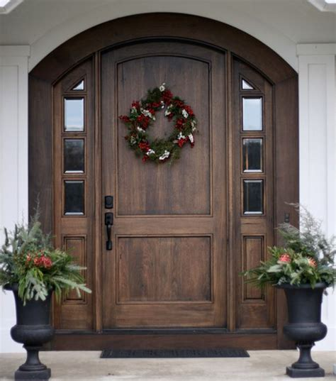 the house entrance door steps indian style 20 beautifully classic farmhouse stained wood doors table and hearth