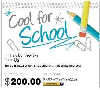 How To Participate In Amazon Giveaways - 200 amazon gift card back2school