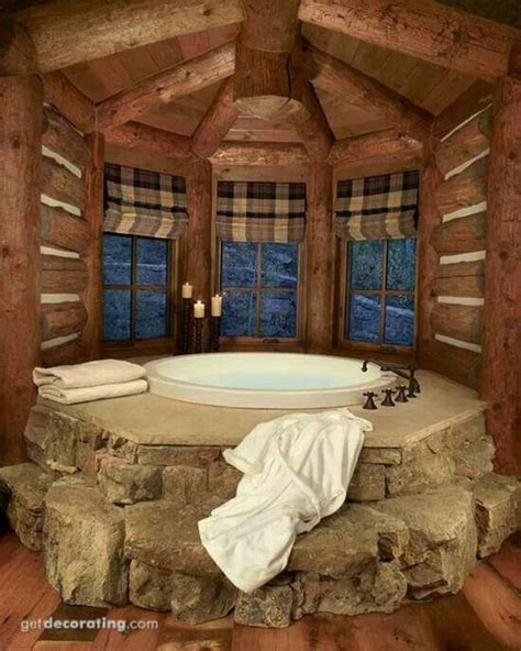 Log Cabins In With Tubs 119 best images about log home bathroom ideas on
