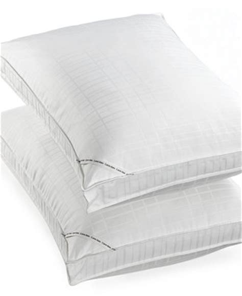 macys bed pillows closeout calvin klein almost down select gusseted