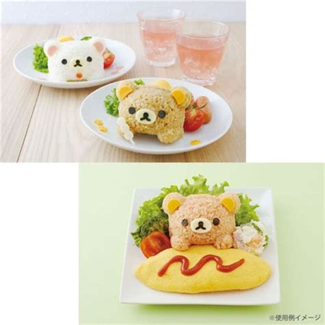 Rilakkuma Rice Set 30 rilakkuma bento rice decoration set san x japan bento accessories bento boxes kawaii