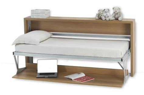 Wall Desk Bed by Italian Wall Bed Desk Horizontal Murphysofa Smart