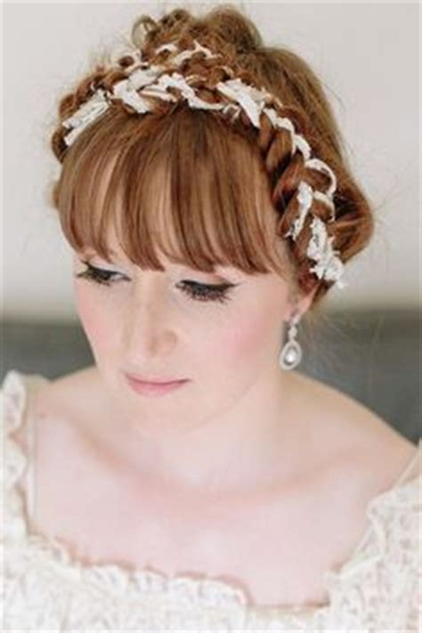 Wedding Hair Up With Fringe by Bridal Hair Updos With Fringe Bridesmaid Hair Up With