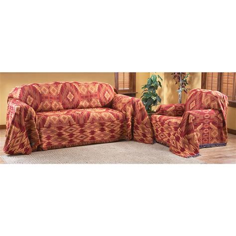 couch throw covers caliente 174 southwestern furniture throw 125674 furniture