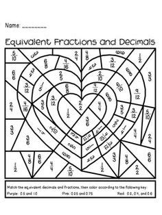 Fraction Coloring Page 5th Grade by 1000 Images About 3rd Grade Math Ideas On