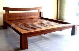 Wooden Bed Wooden Beds Manufacturer Handcrafted Wooden Bed Supplier