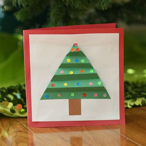 cute holiday cards for kids to make simple enough for a christmas crafts for kids homemade christmas card