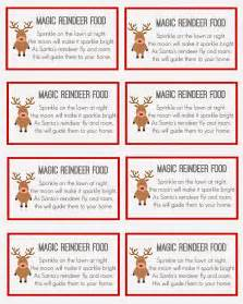 Reindeer dust labels search results calendar 2015