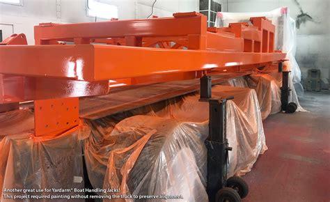 yardarm boat lift yardarm marine products metal fabrication specialists