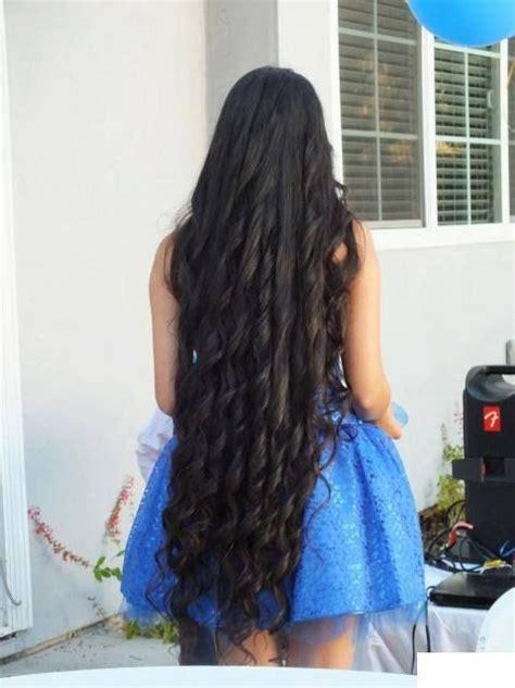 black hairstyles ringlets very long black hair in ringlet curls hair pinterest