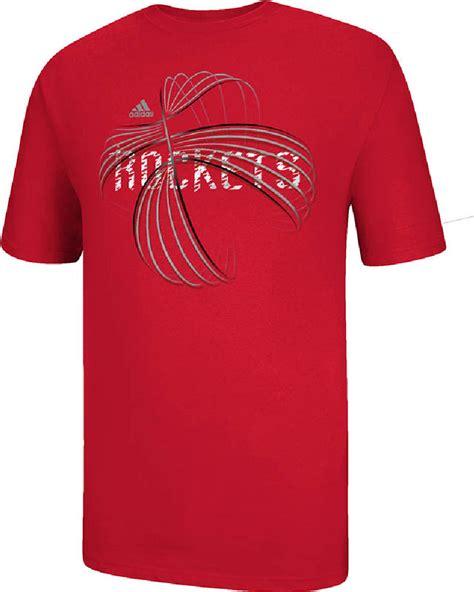 Kaos T Shirt Adidas Basketball houston rockets nba basketball sleeve t shirt by adidas houston rockets