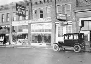 Ford Dealerships In Historic Ford Dealership Photo Car Dealerships From Past