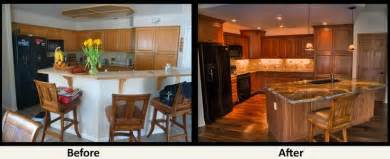 kitchen remodel before after renovations pinterest